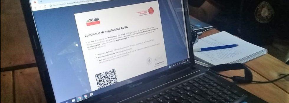 Capacitación RUBA para la Federación 3 de Junio