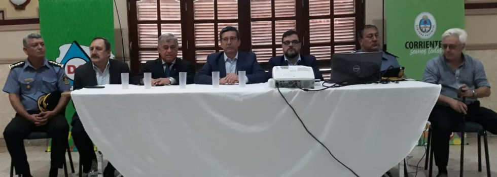 Carlos Alfonso participó de la Jornada de Sensibilización en Materiales Peligrosos en Corrientes