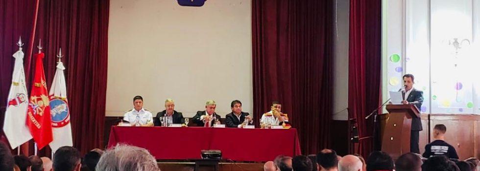 El Consejo Nacional de Bomberos y la Academia Nacional inauguraron su ciclo lectivo 2O19