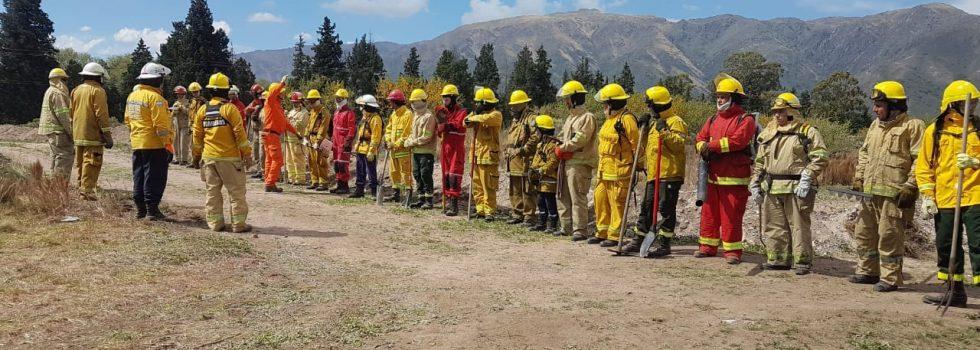 Brigadas de Incendios Forestales: Simulacro con Alerta Amarilla en San Luis