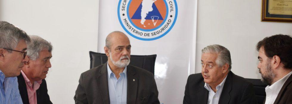 Una nueva reunión de trabajo junto a la Secretaría de Protección Civil