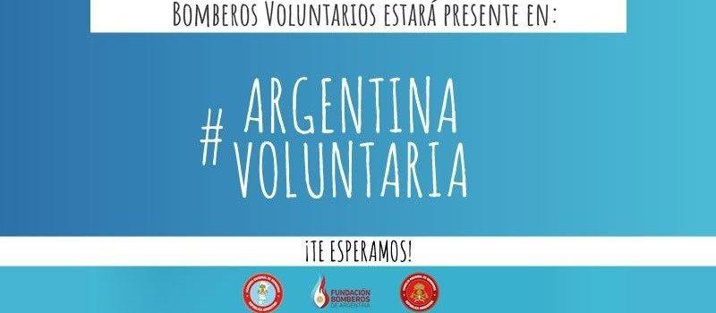 Los Bomberos Voluntarios nos sumamos a Argentina Voluntaria