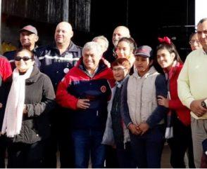 Carlos Alfonso visita Santiago del Estero