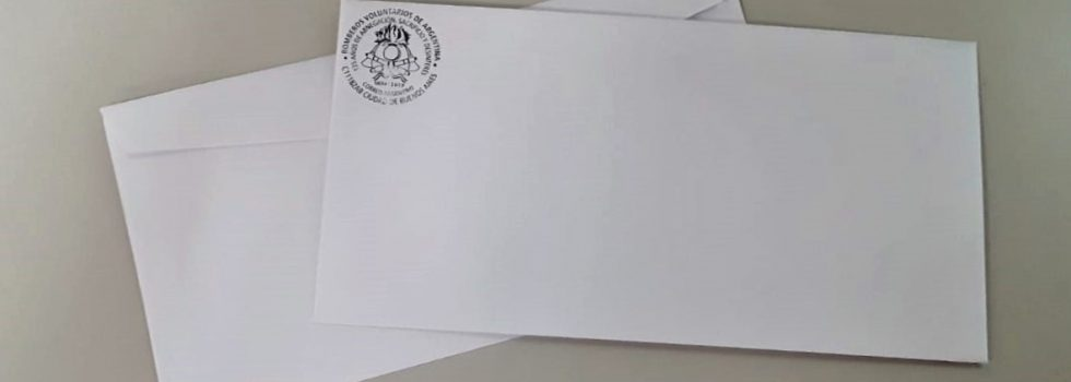 Marca Postal Bomberos Voluntarios