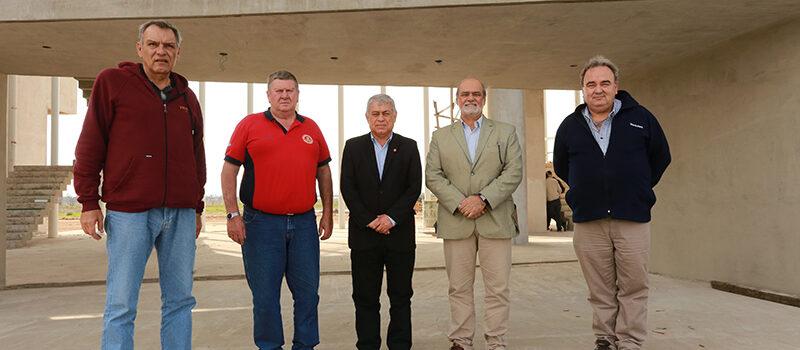 Visita oficial al Centro Nacional de Entrenamiento