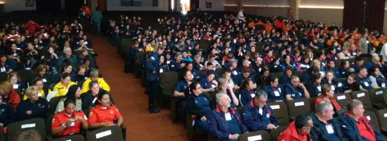 Las Jornadas de Género convocaron a más de 500 bomberos y bomberas de Argentina e Iberoamérica