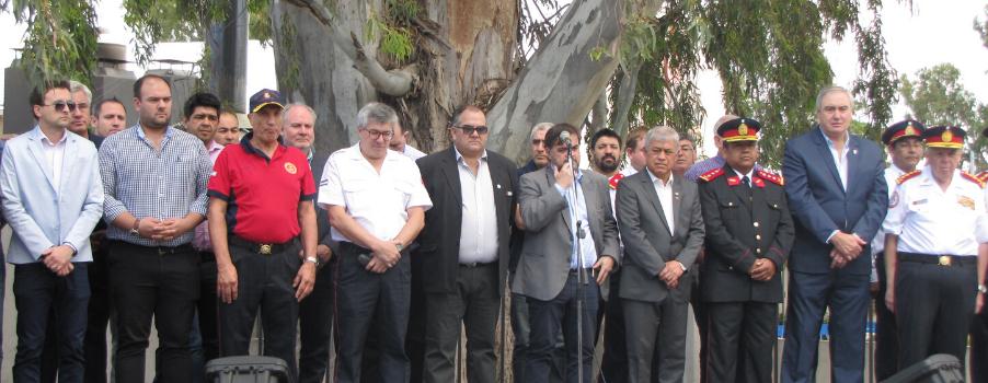 Estuvimos en el 25 aniversario de Federación La Pampa