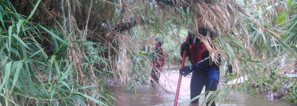 Brigadas de Rescate Acuático colaboraron con la búsqueda de Fiorella Furlán