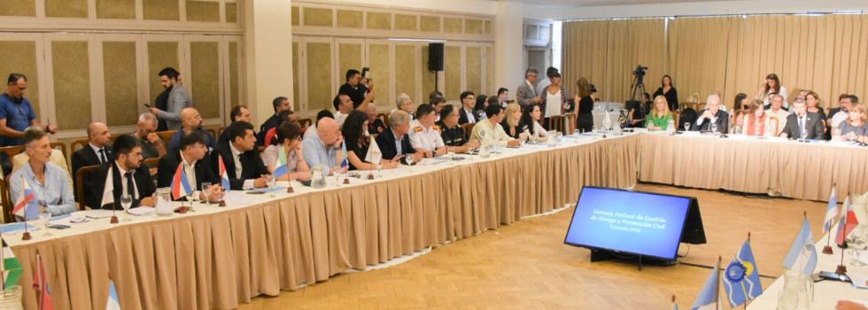 El Sistema Nacional de Bomberos Voluntarios en la mesa del Consejo Federal de Gestión de Riesgo y Protección Civil