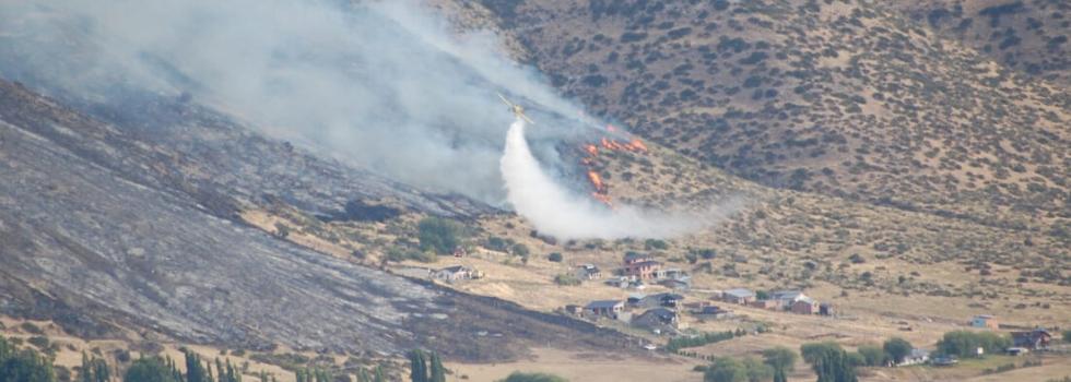 Bomberos Voluntarios de Chubut fundamentales en el combate de los Incendios Forestales mientras peligra su operatividad