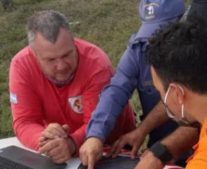 En Chaco la Brigada Nacional K9 colabora con la búsqueda de una persona
