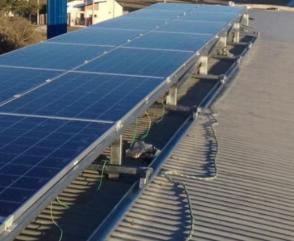 Sustentabilidad: Bomberos de María Grande incorporan paneles solares