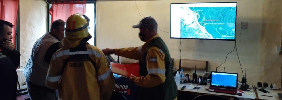 Continúa el combate de Incendios en el Delta de Paraná