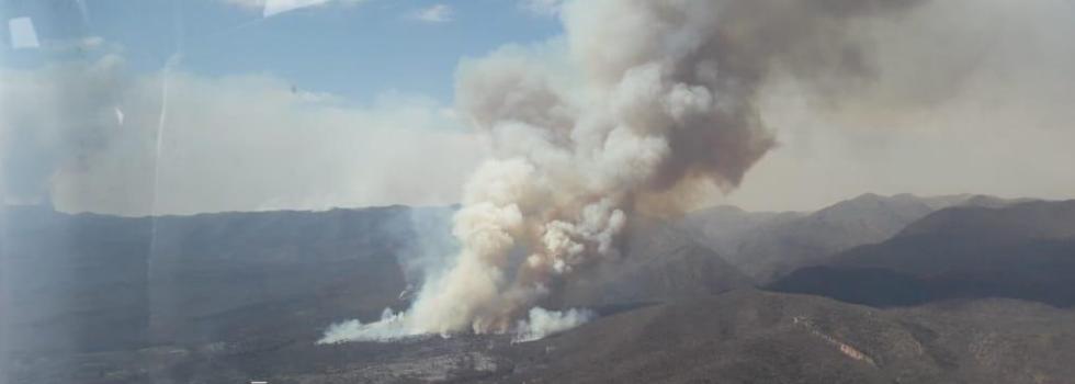 Córdoba: Bomberos Voluntarios combaten sin Tregua Incendios Forestales