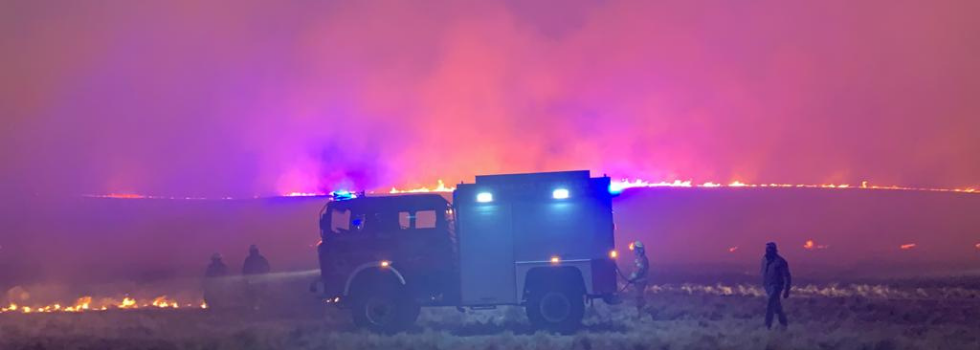 Alerta Amarilla por los Incendios Forestales en Córdoba