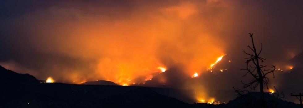 Incendio Forestal en El Bolsón
