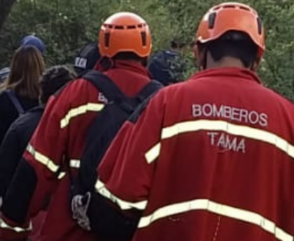 Bomberos Voluntarios rescatan 4 personas extraviadas en sierras de La Rioja