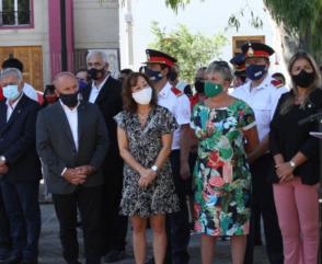 El Presidente junto a Federación Chubut
