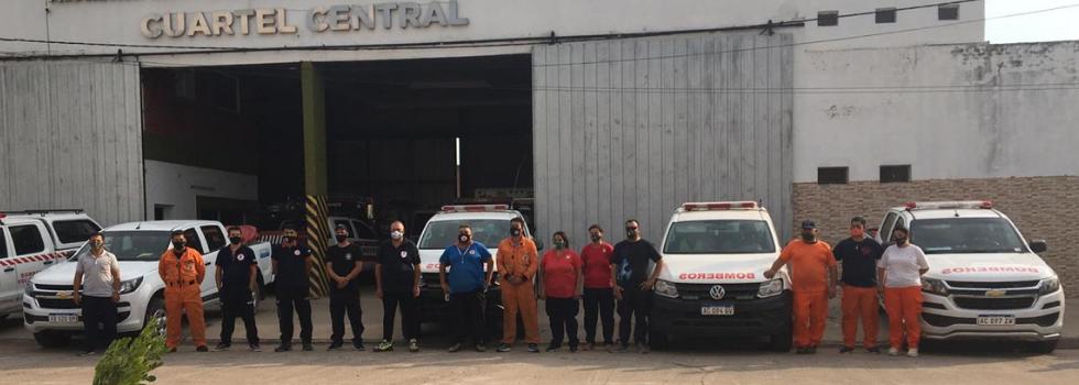 Brigadas Caninas participan en la búsqueda de una persona desaparecida en Chaco