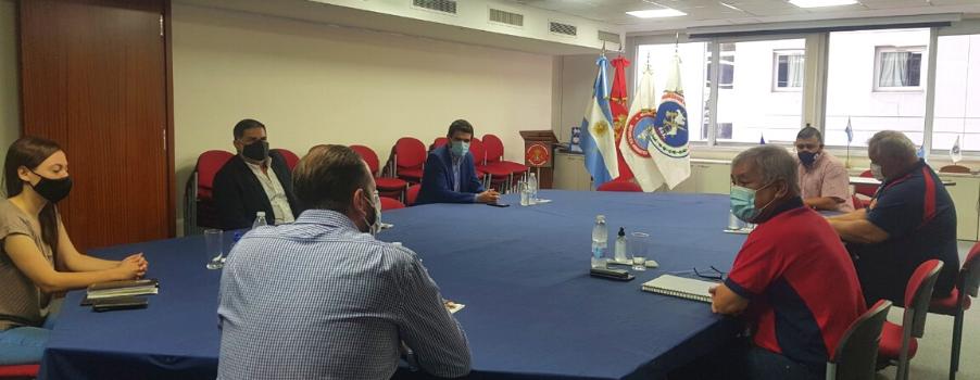 Reunión CUO con Ministerio de Seguridad
