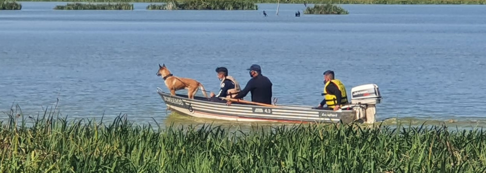 Brigadas Caninas participaron durante 3 días de un Operativo de Búsqueda en Bernal