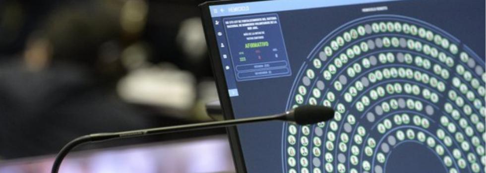 Media Sanción para el Proyecto de Ley de Fortalecimiento del SNBV
