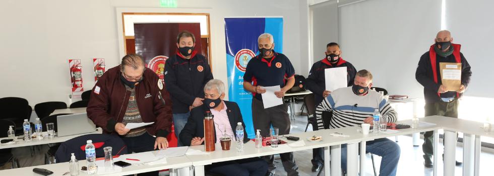 Continúan los avances en el Centro Nacional de Entrenamiento para Bomberos