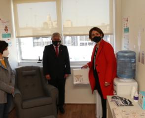 El Consejo Nacional inauguró un lactario en su sede