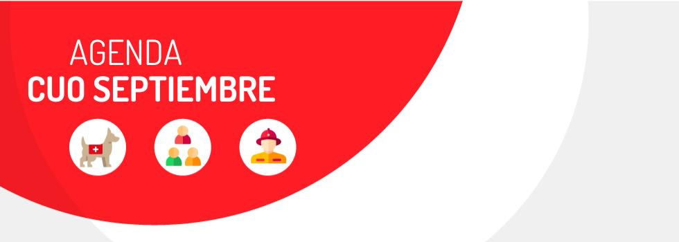 CUO: Actividades de Septiembre
