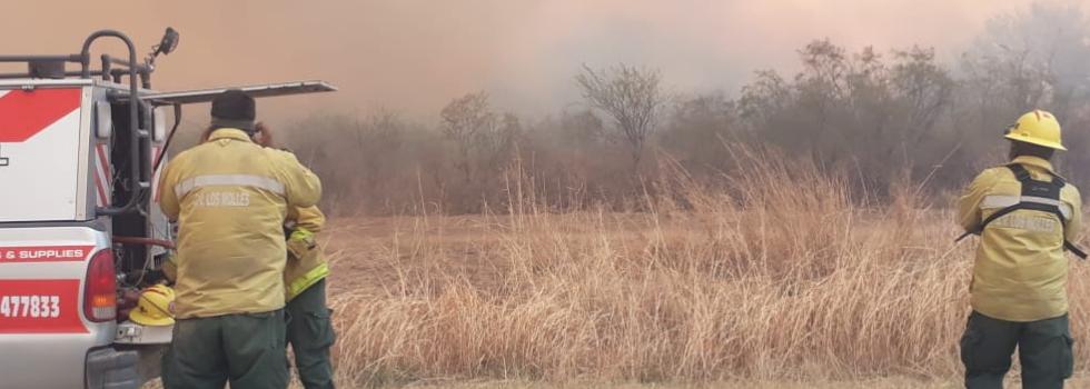 Incendios forestales. Octubre 2021